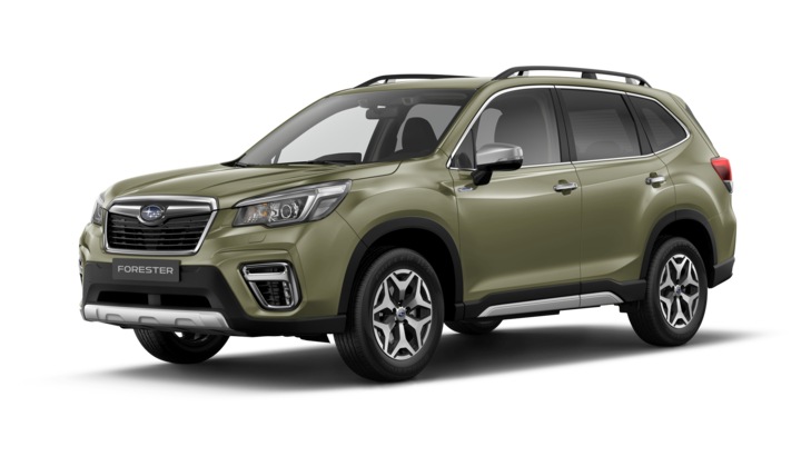 Subaru Forester Hybrid 2.0ie Active frontansicht
